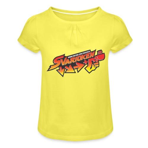 Maglietta Svarioken - Maglietta da ragazza con arricciatura