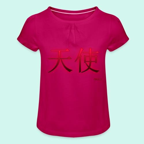 ANGELO/ANGEL - Meisjes-T-shirt met plooien