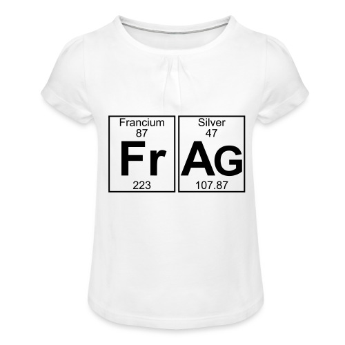 Fr-Ag (frag) - Full - Girl's T-Shirt with Ruffles