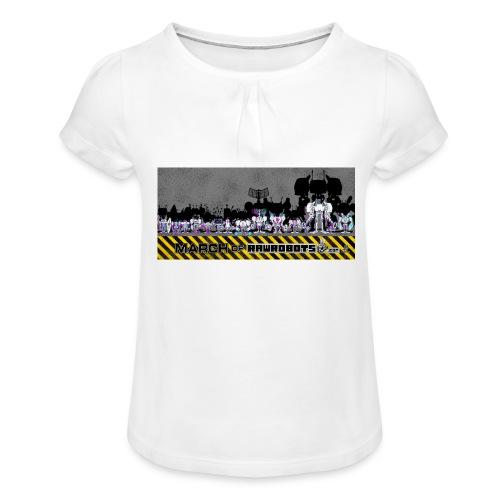 #MarchOfRobots ! LineUp Nr 2 - Pige T-shirt med flæser