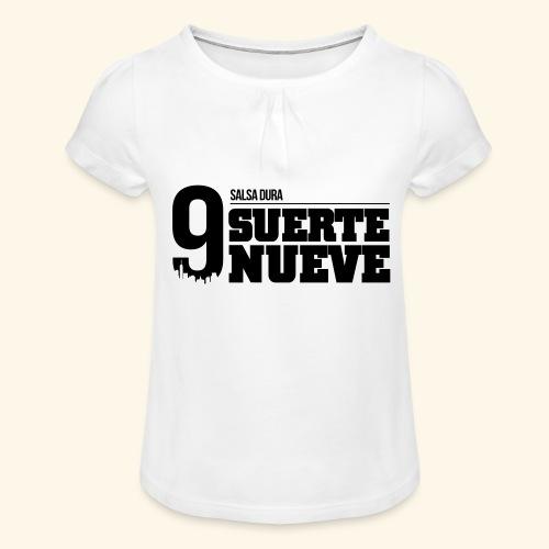 Logo Suerte - T-shirt à fronces au col Fille