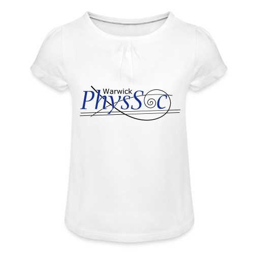 Official Warwick PhysSoc T Shirt - Girl's T-Shirt with Ruffles