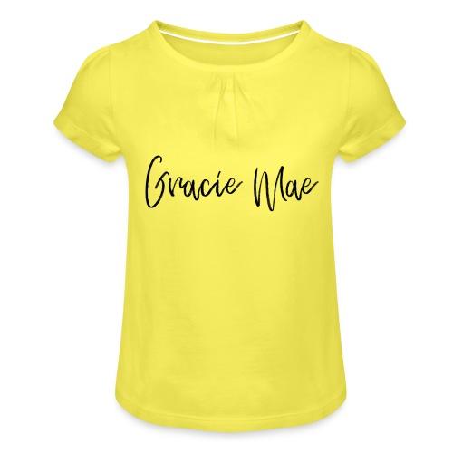ESMY CHOSE - Girl's T-Shirt with Ruffles