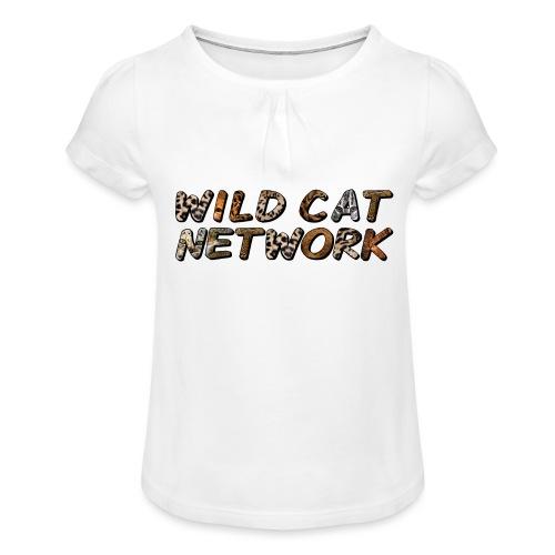 WildCatNetwork 1 - Girl's T-Shirt with Ruffles