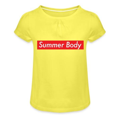 Summer Body - T-shirt à fronces au col Fille