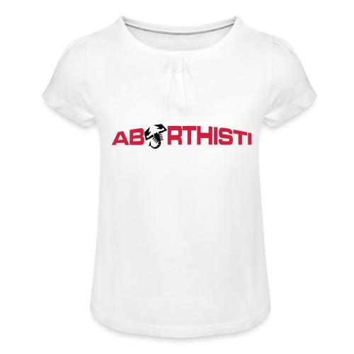 abarthisti no url - Jente-T-skjorte med frynser