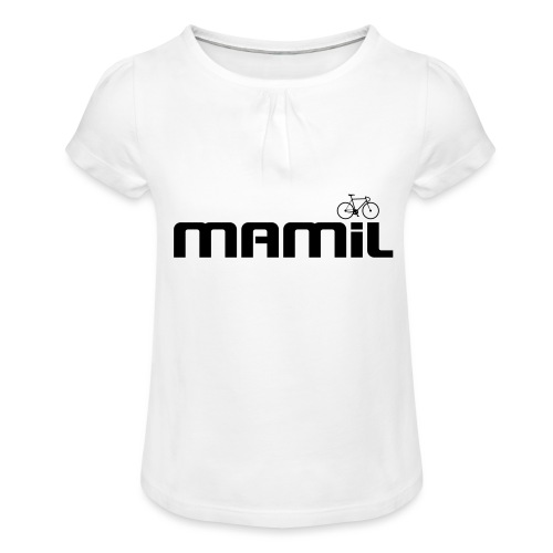 mamil1 - Girl's T-Shirt with Ruffles