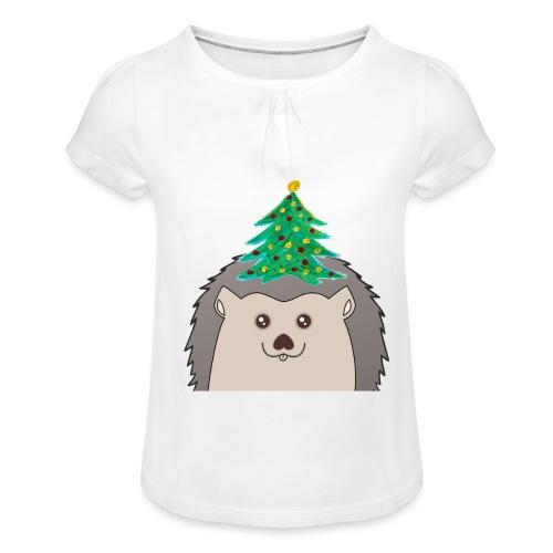 Hedtree - Mädchen-T-Shirt mit Raffungen