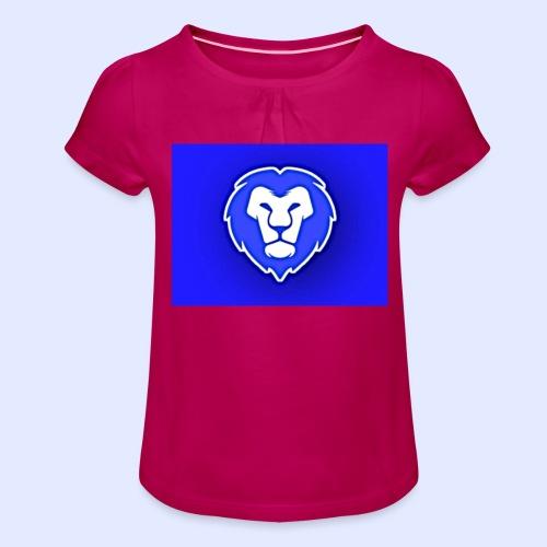 FocusLion - Tyttöjen t-paita, jossa rypytyksiä