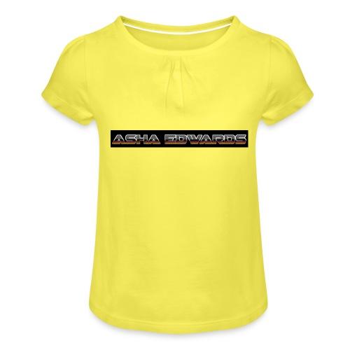 Asha_Edwards_Merch_ - Girl's T-Shirt with Ruffles
