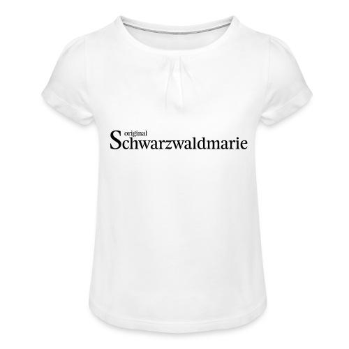 Schwarzwaldmarie - Mädchen-T-Shirt mit Raffungen