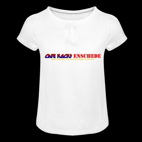 RNR All Nite - Meisjes-T-shirt met plooien