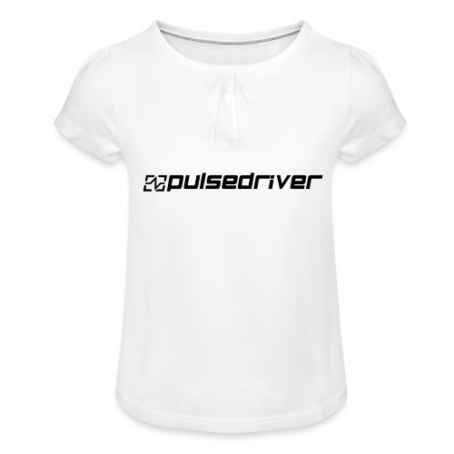 Pulsedriver Beanie - Girl's T-Shirt with Ruffles