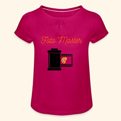 Foto Master 2nd - Pige T-shirt med flæser