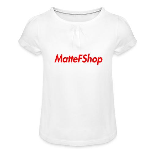 Summer Collection! (MatteFShop Original) - Maglietta da ragazza con arricciatura