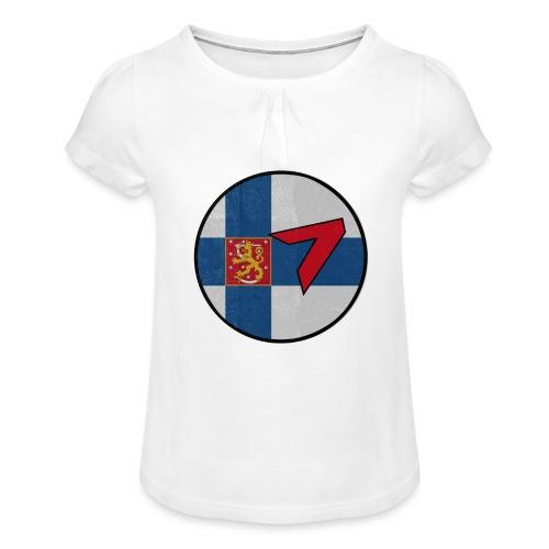 5 - Girl's T-Shirt with Ruffles