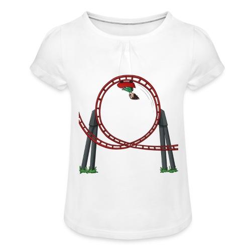 Davincstyle Looping - Meisjes-T-shirt met plooien