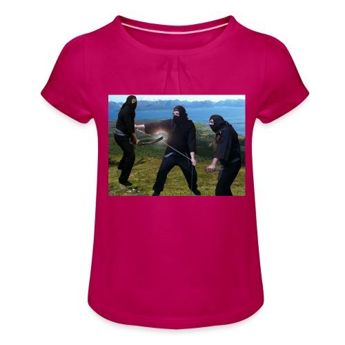 Chasvag ninja - Jente-T-skjorte med frynser