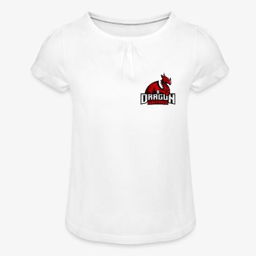 A Dragon Gaming Official Merch - Girl's T-Shirt with Ruffles