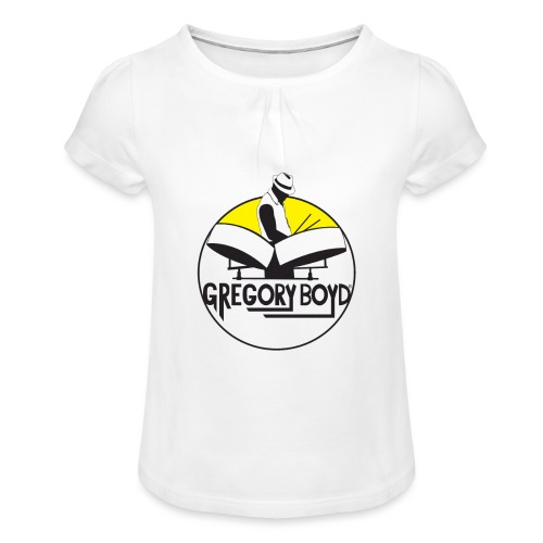 INTRODUKTION ELEKTRO STEELPANIST GREGORY BOYD - Pige T-shirt med flæser