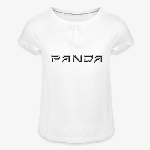 PANDA 1ST APPAREL - Girl's T-Shirt with Ruffles