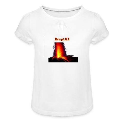 EruptXI Eruption! - Girl's T-Shirt with Ruffles
