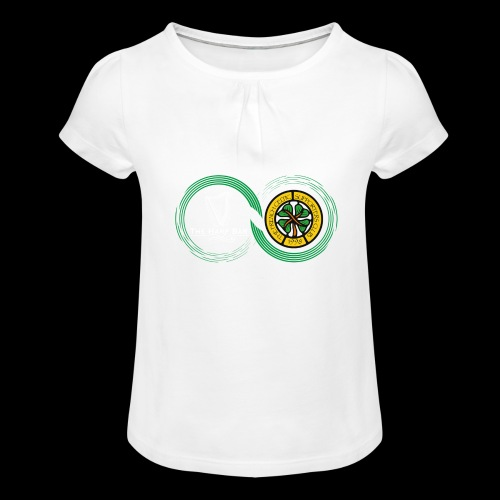Harp and French CSC logo - T-shirt à fronces au col Fille