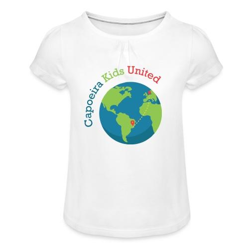 Capoeira Kids United - Girl's T-Shirt with Ruffles