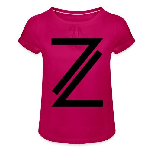 Z - Girl's T-Shirt with Ruffles