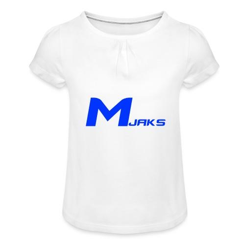 Mjaks 2017 - Meisjes-T-shirt met plooien