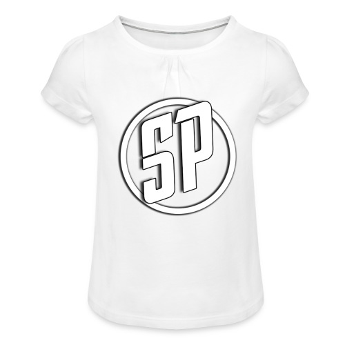 SPLogo - Girl's T-Shirt with Ruffles