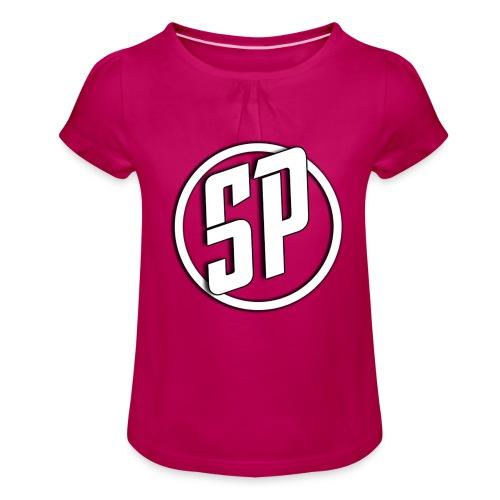 SPLogo - Girl's T-Shirt with Ruffles
