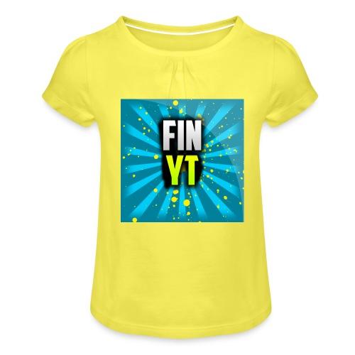 Uusi Youtube Logo - Tyttöjen t-paita, jossa rypytyksiä