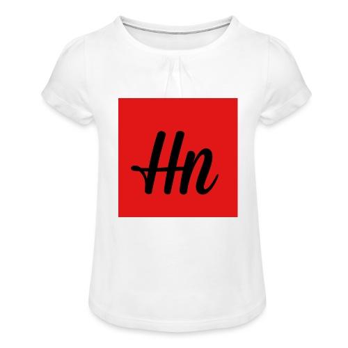 IMG 1435 - Girl's T-Shirt with Ruffles