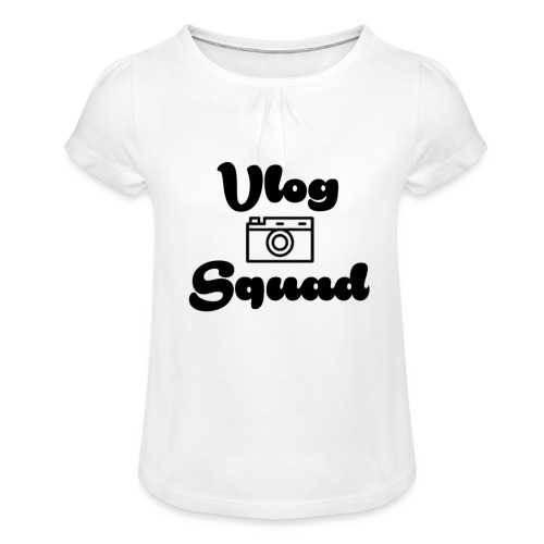 Vlog Squad - Girl's T-Shirt with Ruffles