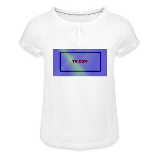 TV.COM - Tyttöjen t-paita, jossa rypytyksiä