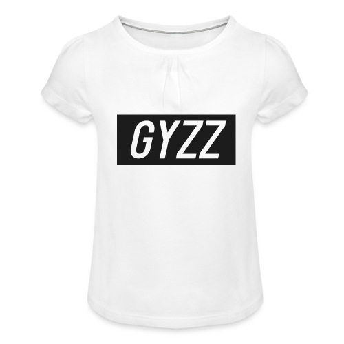 Gyzz - Pige T-shirt med flæser