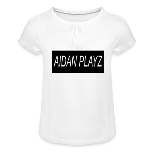 AIDAN - Girl's T-Shirt with Ruffles