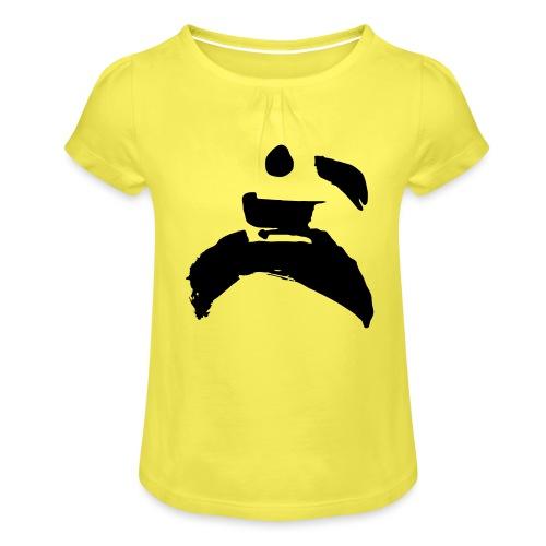 kung fu - Girl's T-Shirt with Ruffles
