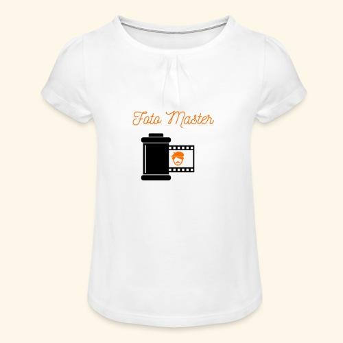 Foto Master - Pige T-shirt med flæser