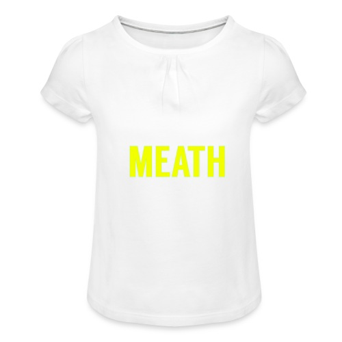MEATH - Girl's T-Shirt with Ruffles