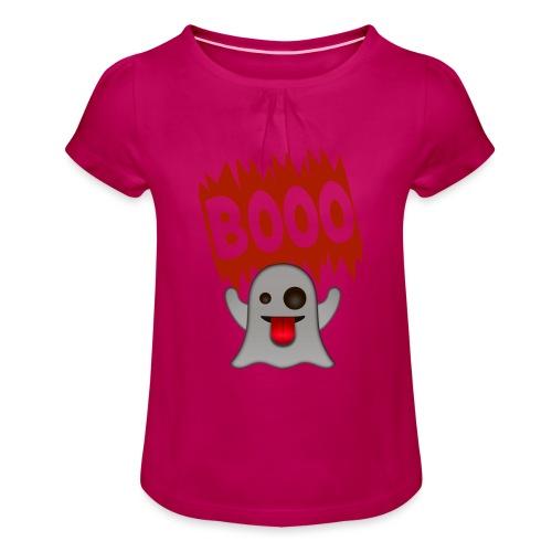 Booo - Tyttöjen t-paita, jossa rypytyksiä