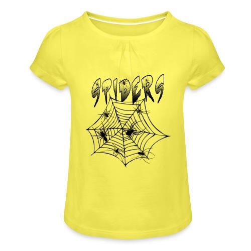 Spiders - Tyttöjen t-paita, jossa rypytyksiä