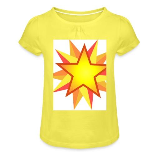 ck star merch - Girl's T-Shirt with Ruffles