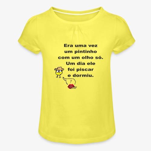 Era uma vez... - Girl's T-Shirt with Ruffles