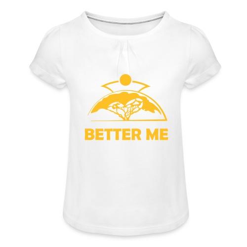 Better Me - Girl's T-Shirt with Ruffles