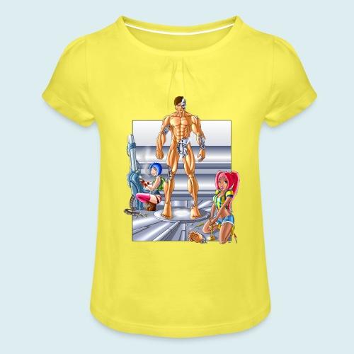 Terminator e meccaniche col - Maglietta da ragazza con arricciatura