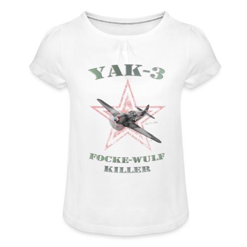 YAK n6 FWkiller15 copie2 - T-shirt à fronces au col Fille