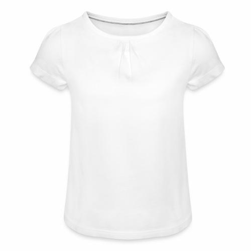 I.A - T-shirt à fronces au col Fille