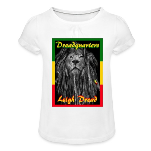 Dreadquarters - Girl's T-Shirt with Ruffles